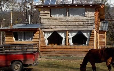 Paneles solares Cholila: Lago Rivadavia