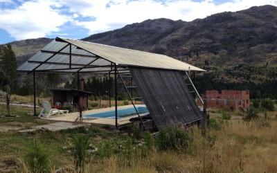 Climatización solar de piscina en Radal