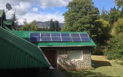 Paneles solares conectado en red eléctrica Radal II