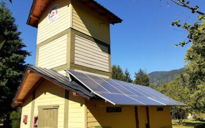 Generador solar On Grid en Cabañas Peuma Hue