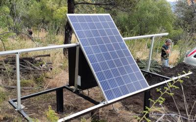 Generador solar para cortes de Energía para Belén Vallerga