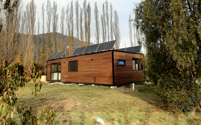 Instalación de sistema solar fotovoltaico en Lago Puelo